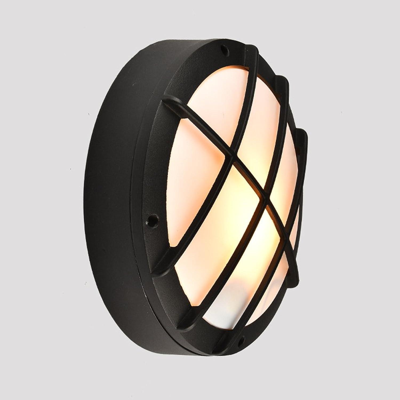 MTTK LED FeuchtigkeitsBestendige Lampe Europische Persnlichkeit Auenwandleuchte Balkon Korridor Wasserdichte Wandleuchte,S