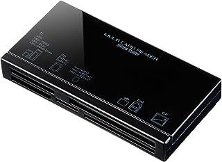 サンワサプライ USB2.0 カードリーダー xD・スマートメディア(3.3V)/SD/microSD/MS/CF(TypeI)対応 ADR-ML18BKN
