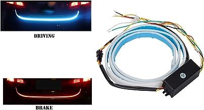 Jctek Univeral Flow Car Diggy Light Streamer Brake Trunk Signal Light for All Cars & Mini SUVS