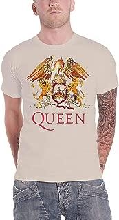 Queen T Shirt Classic Crest Band Logo Freddie Mercury Official Mens New