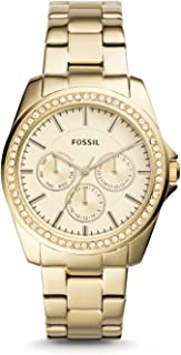 FOSSIL Casual Watch For Women Analog Stainless Steel - BQ3317