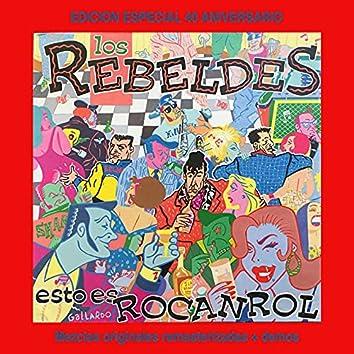 Esto Es Rocanrol (Edición Especial 40 Aniversario Rebeldes)