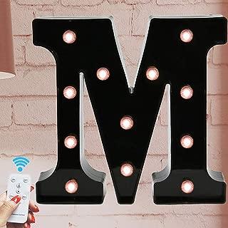 Best light bulb letter signs Reviews