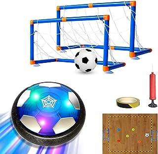 MESIXI Kids Toys LED Light Hover Soccer Ball Toy Air...