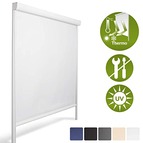 Sol Royal K24 Cassette Blackout Roller Blind 120 X 175 Cm