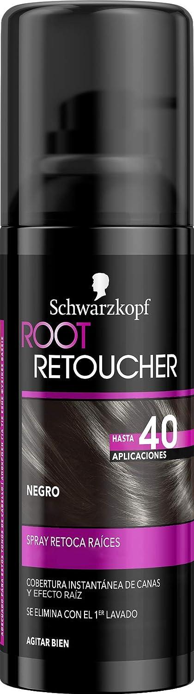 SCHWARZKOPF Root tinte castaño retoca raíces spray 120 ml