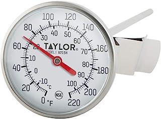 دماسنج شماره گیری جیب جیبی دوتایی با مشخصات حرارتی Taylor Precision 8215N 8 اینچ ، شماره گیری 1.75 اینچی ، 0 تا 220 درجه F ، NSF