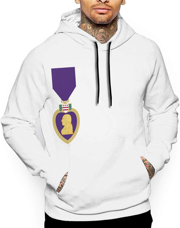 Dallas Mall Purple Heart Mans Hoodie Indefinitely Sweatshirt Hood Printing Full Pullover