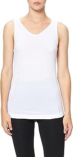 Odlo Dames Bl Top V-hals Singlet Active F-Dry Light Onderhemd