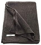 ESPRIT Knitted Kuscheldecke Braun • Strickdecke 130 x 170 cm • sehr weich & leicht zu pflegen • Temperatur ausgleichend • perfekt für kühle Sommer Nächte