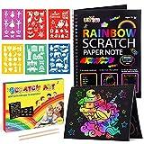 Giochi Bambina 2 3 4 5 6 7 8 9 10 Anni,Scratch Art Bambini Regalo Bambina 2-10 Anni Femmina Giochi...