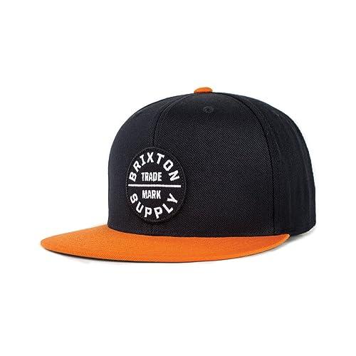699d3d23faf10 Brixton Men s Oath Iii Medium Profile Adjustable Snapback Hat