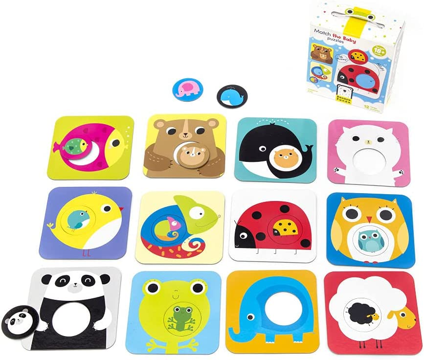 Banana Panda Match The Baby Set Puzzle Spring new work Beginner Puzzles Bargain sale