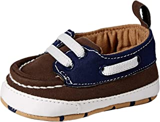 OshKosh B'Gosh Boys Low Top Brown Boat Shoe Crib
