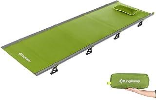 comprar comparacion KingCamp Cama de Camping Portátil Catre Plegable Multiuso Cama de campaña Aluminio Individual con Bolsa de Transporte 190 ...