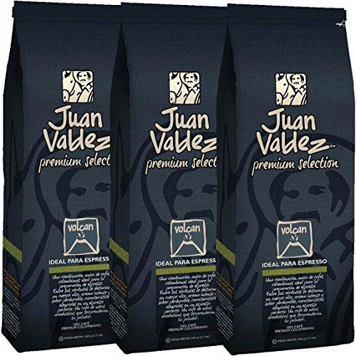 Juan Valdez Premium Volcán Caffé Macinato, 340g