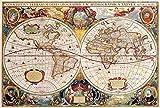 DIY 1000 Puzzle Rompecabezas Madera Para Adultos Juguete Educativo Woody Geographic Discovery Regalo Único Estilo De Decoración Del Hogar -75x50cm