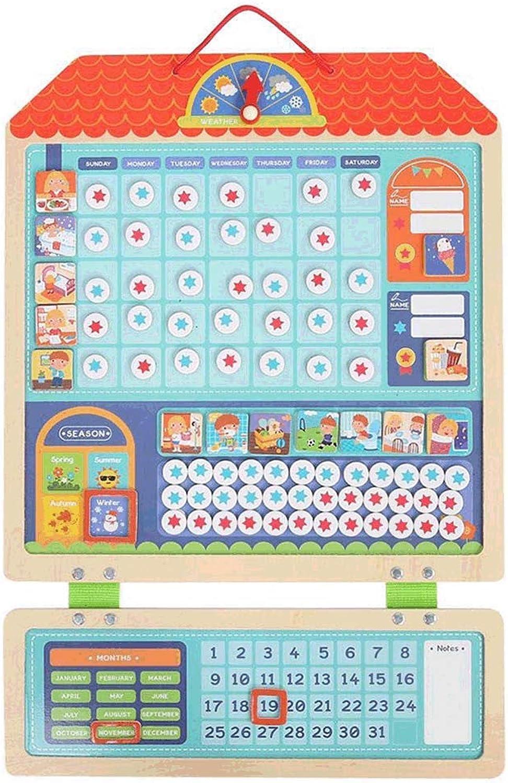 tienda de venta Ishua 1 PC Cuadro de tareas Actividades del Calendario Calendario Calendario magnético Diario para el Comportamiento Infantil de Niños pequeños Programa de recompensas magnéticas de Parojo Recompensas  marcas de moda