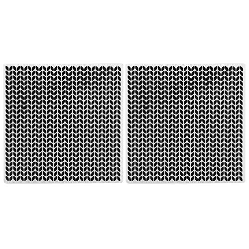 Strumento per la creazione di oggetti in carta Modello quadrato per goffratura, cartella per goffratura in plastica, album di ritagli per le comuni macchine per goffratura