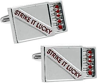 Strike It Lucky 幸運のマッチ カフス カフスボタン カフリンクス n01431