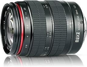 Meike 85mm F/2.8 Macro Medium Telephoto 1.5:1 Ratio Manual Focus Fixed Prime Lens for Nikon F Mount DSLR Cameras Nikon D850 D750 D3300 D3400 D5500 D5600 D5300 D5200 D5100 D5000 D7200
