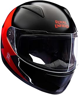 Royal Enfield Bolt FF Helmet Black and Red XL-620 mm