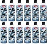 CRC 05346 Ice-Off Windshield Spray De-Icer - 12 Wt Oz. (12-Pack)