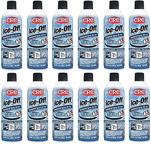 CRC 05346 Ice-Off Windshield Spray De-Icer - 12 Wt Oz. (12-Pack)