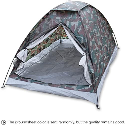 HWZPHH Tente,Tente pour Camping,Tente Portative De Camping pour Le Camouflage Extérieur De Tentes De Couche Simple DE 2 Personnes pour Le Camping Faisant La Randonnée