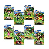 Hot Wheels, Super Mario, Bundle of 8 Die-Cast Cars, 1:64 Scale