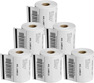 """40 Rolls 1744907 Shipping Labels Compatible 4XL Labels 4"""" x 6"""" Internet Postage Extra-Large Labels"""