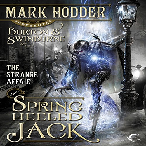 The Strange Affair of Spring Heeled Jack cover art