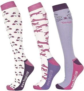Inga - Calcetines para mujer, diseño de gato