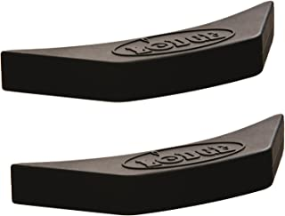 Lodge ASAHH41 Silicone Assist Handle Holder, Black (2-Pack)