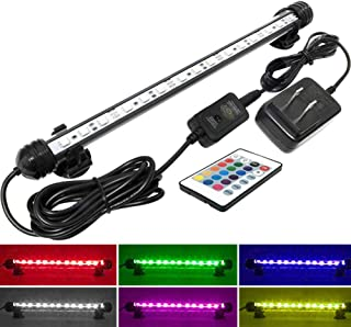 MingDak Fish Aquarium Tank Light – Aquarium Background Light,Wireless Remote..