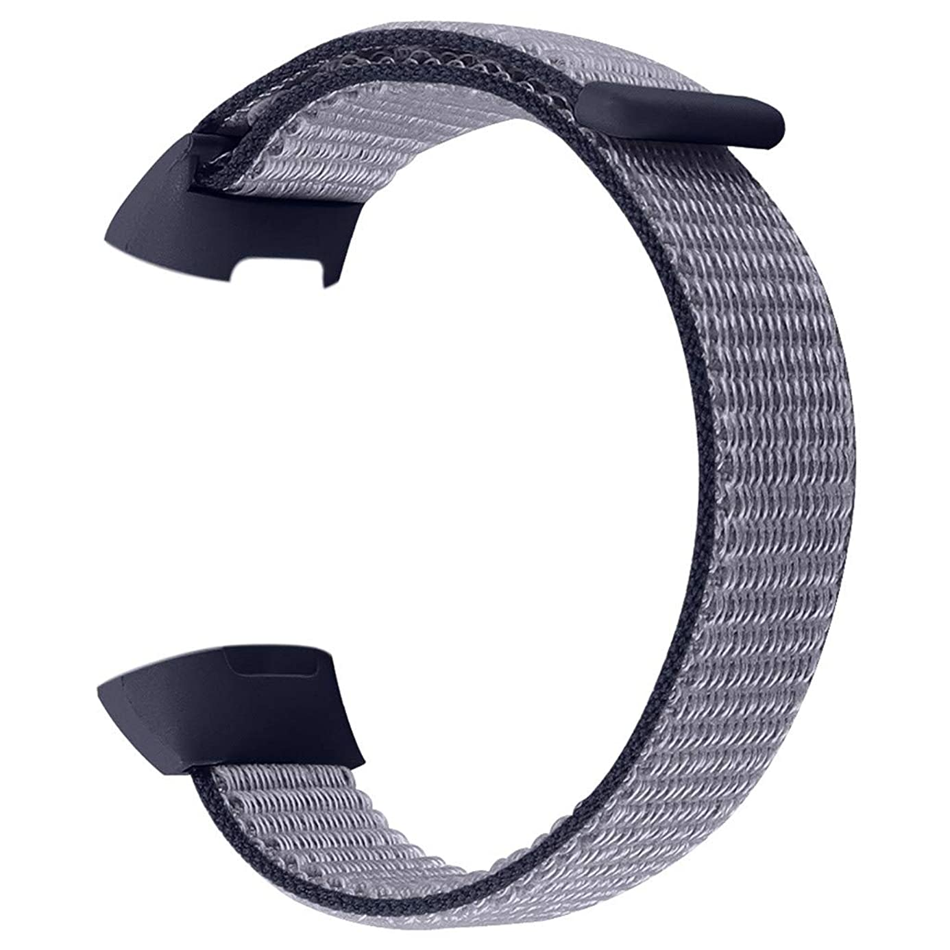 ?? Orcbee ?? _Large Replacement Soft Nylon Sport Loop Wrist Band Strap for Fitbit Charge 3