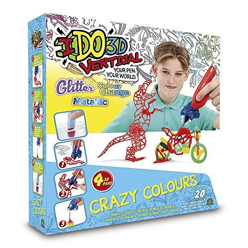 Giochi Preziosi Ido3D Vert Color World Assortito 4 Penne 229