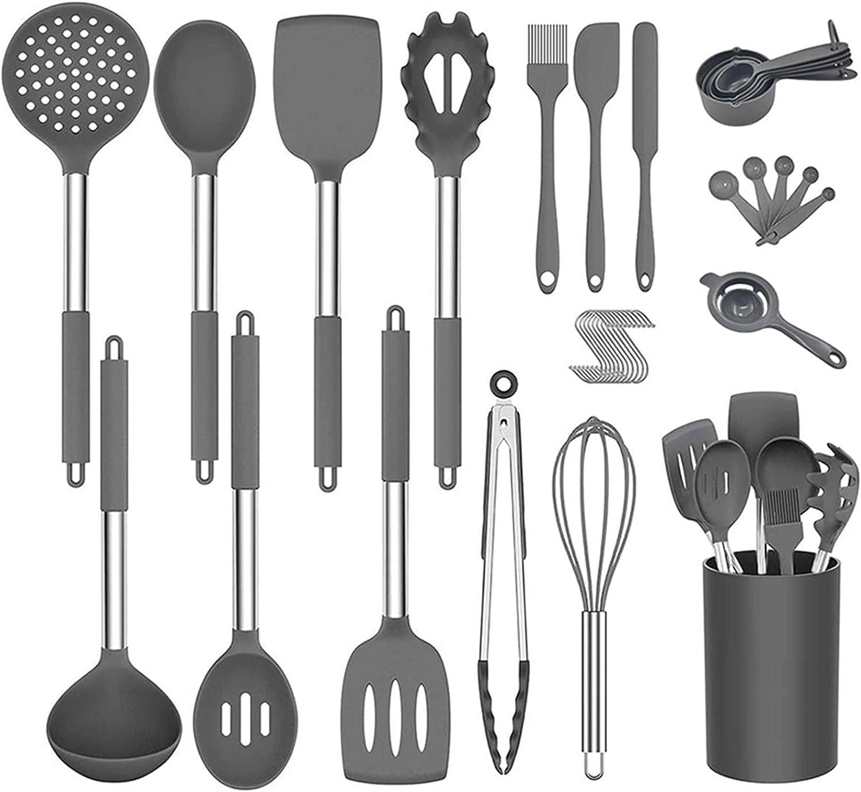 34-piece Kitchen Cookware Set Silicone Special sale item Sp Heat-resistant Spatula cheap