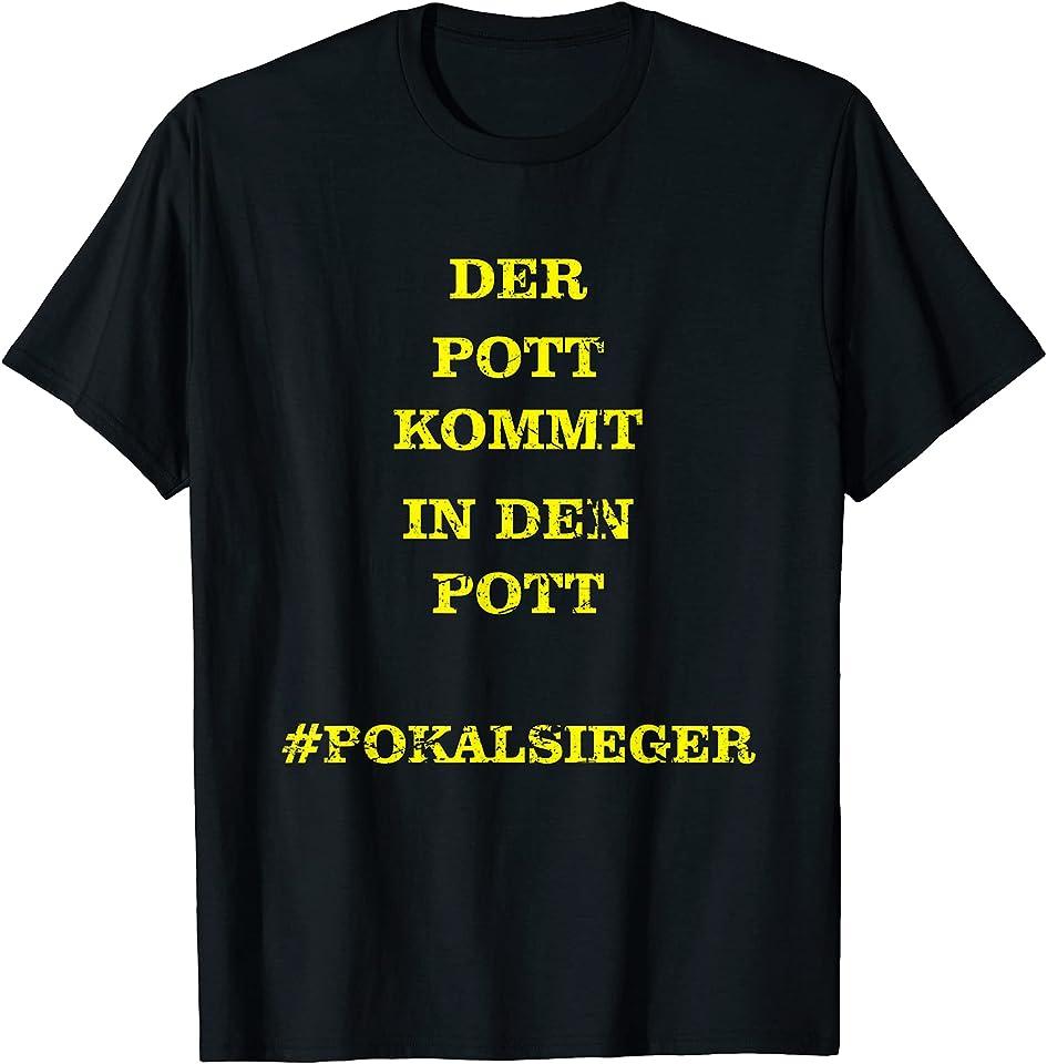 Pokalsieger 2021. Ruhrpott Dortmund T-Shirt
