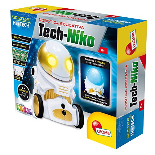 Lisciani Giochi 63901 - Scienza Hi Tech Tech-Niko Lamp Robot