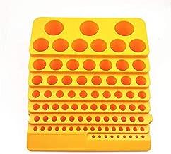 A0127 Caja de pl/ástico con Organizador de Fresas de Espuma para 50 Brocas PCB