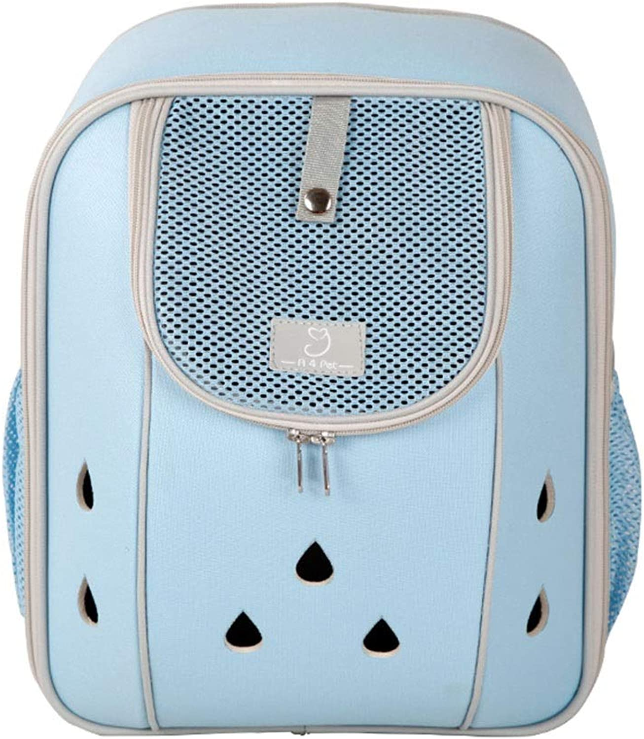 Cages, Crates & Carriers Pet Backpack Cat Out View Box Portable Backpack Home Ventilation Kennel Cat Space Capsule Travel Pet Bag Bearing 3 5KG (color   blueee, Size   26  16  34cm)