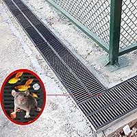浴室用ユニット 床ドレン 排水口カバー 排水路のフロアの排水路、シャワー排水止め防止滑り止め耐荷重屋根溝溝排水、16サイズ (Size : 500x400x30mm)