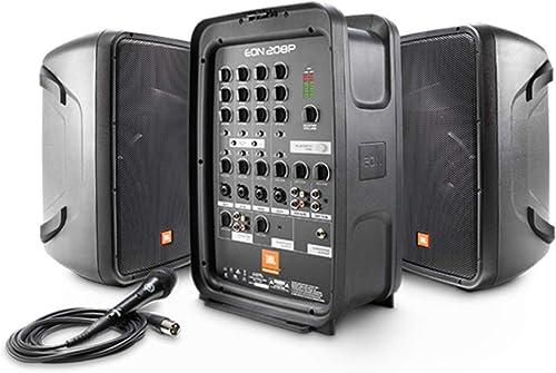 JBL EON208P Enceinte Portable Amplifiée Noir