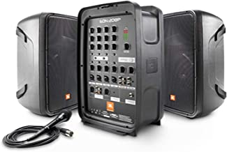 Best JBL Professional EON208P Portable All-in-One 2-way PA System with 8-Channel Mixer and Bluetooth Review