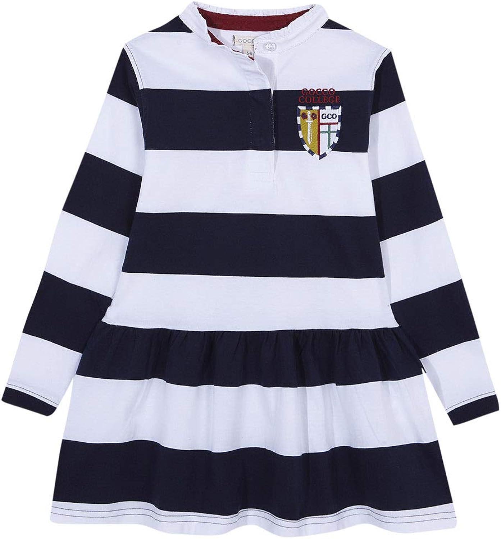 Gocco Vestido Polo Rayas Marino Y Blanco Dress, 43864 para ...