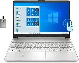 """2021 HP 15.6"""" FHD Touchscreen Laptop Computer, 1"""