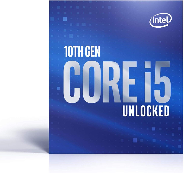 Intel Core i5-10600K - Procesador (4,10 GHz; Casquillo LGA1200; 125 W)
