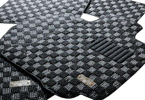 舞フロアマット セレナ C25系専用プレミアムフロアマット レッド・チェッカー