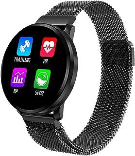 Clearlove77 Información RelojEl Clima Reloj ElectrónicoFrecuencia Cardíaca Reloj InteligenteImpermeable Reloj De PulseraReloj Deportivo Dormir Negro